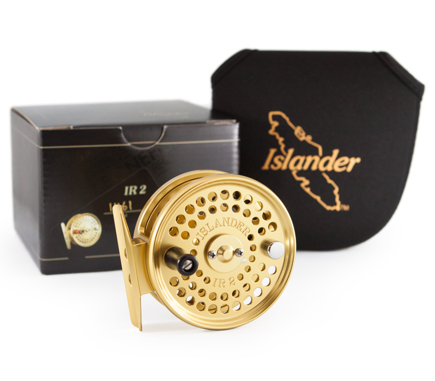 IR2 reel with box and pouch